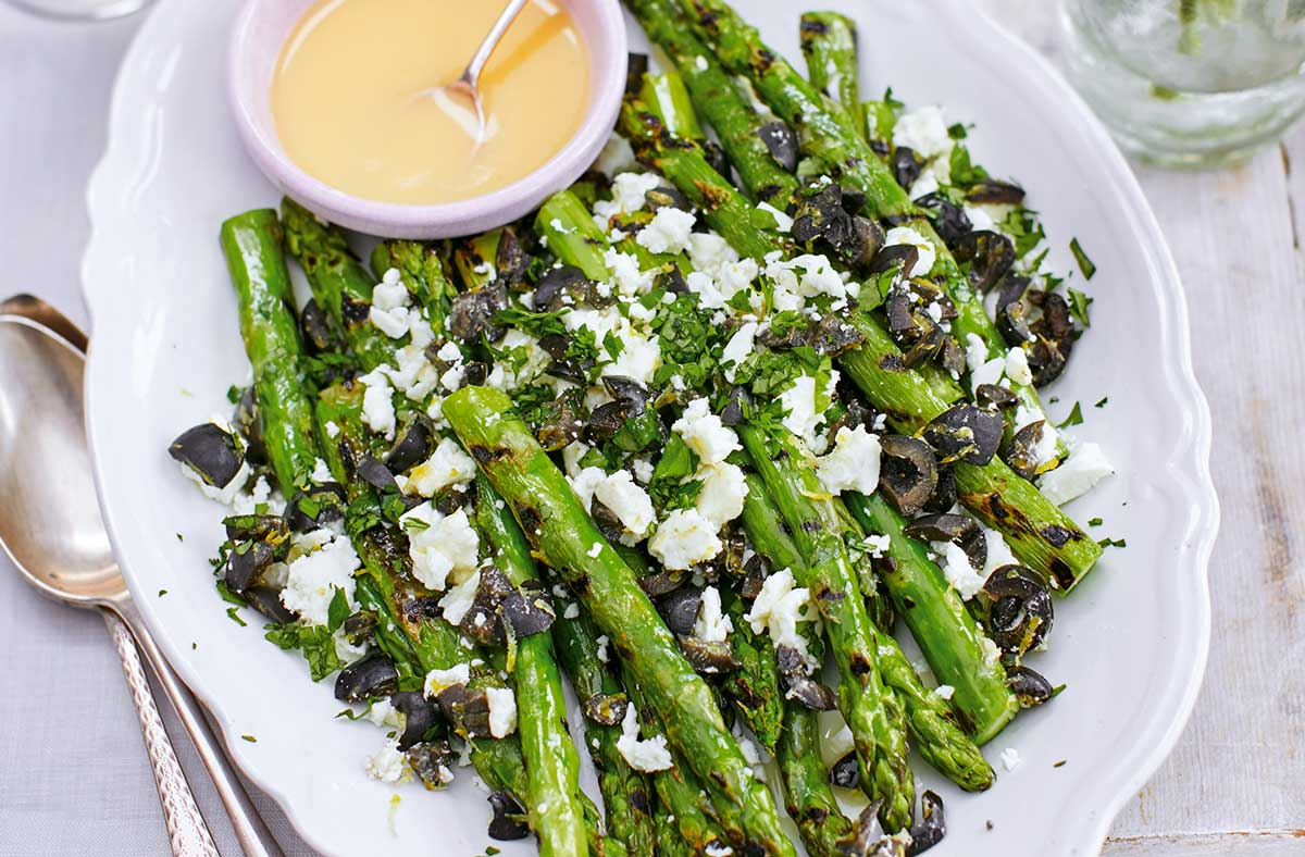 Oregano and Asparagus